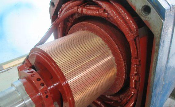 Aminex silnik prądu stałego