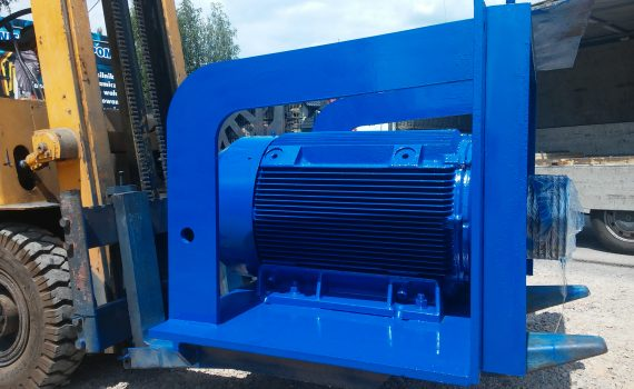 remont regeneracja silnika elektrycznego 160kW, AMINEX