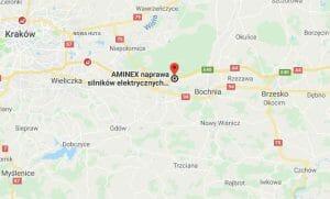 AMINEX serwis naprawa silników elektrycznych pomp